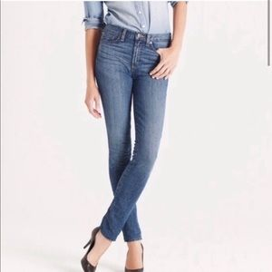 Women's high rise skinny 25 jeans